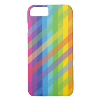 iPhone 7 case Simple Geometric Color Full
