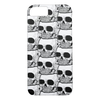 iPhone 7 Case: Skull Pattern iPhone 8/7 Case