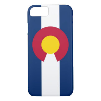 iPhone 7 case with Flag of Colorado