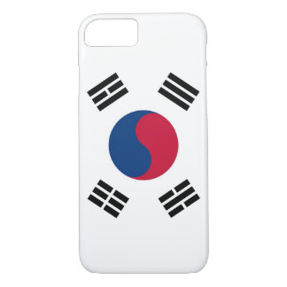 iPhone 7 case with Flag of South Korea
