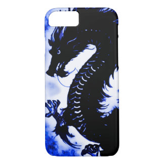iPhone 7 Chinese Water Dragon Fantasy Art Nouveau iPhone 8/7 Case