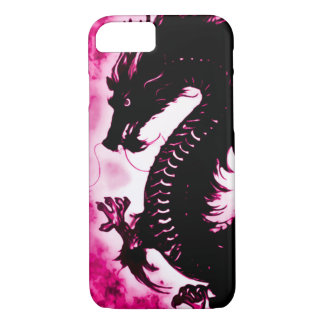 iPhone 7 Chinese Wish Dragon Fantasy Art Nouveau iPhone 8/7 Case