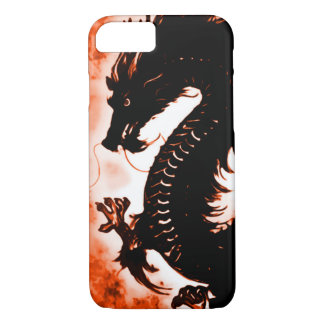 iPhone 7 Chinese Wood Dragon Fantasy Art Nouveau iPhone 8/7 Case