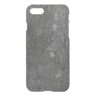 iPhone 7 Clearly™ Deflector Case - Concrete Black