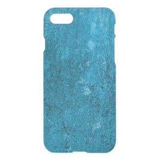 iPhone 7 Clearly™ Deflector Case - Concrete Blue