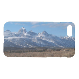 iPhone 7 Clearly Deflector Case Tetons Mts.