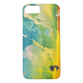 iPhone 7 Cool Colourful colourblast PhoneCase iPhone 7 Case