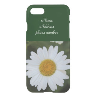 iphone 7 customisable case, Lovely Daisy iPhone 8/7 Case