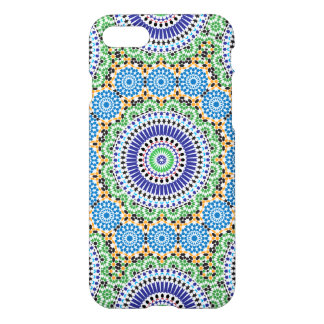 iPhone 7 Glossy Case with Mosaic