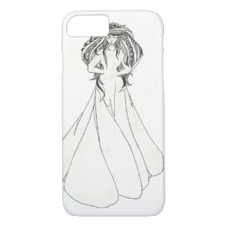 iPhone 7 Grey Lady Case