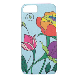 iPhone 7, Lovely day flowers iPhone 7 Case
