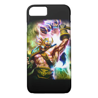 iPhone 7 Norse Thunder God Airbrush Art Case