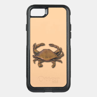 iPhone 7 OtterBox Nautical Copper Crab on Cream OtterBox Commuter iPhone 7 Case