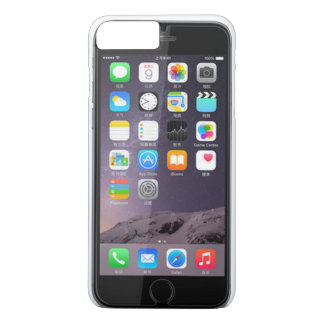iPhone 7 Plus, Barely There, Mirror image, screen iPhone 7 Plus Case