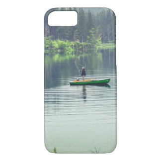 Iphone 7 plus Case fishing branches leaves tree