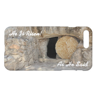 iPhone 7 Plus Gloss Case Jesus Open Tomb or Grave