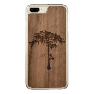 Iphone 7 plus tree design. carved iPhone 8 plus/7 plus case