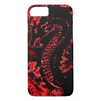 iPhone 7 Red Samurai Spirit Dragon Case