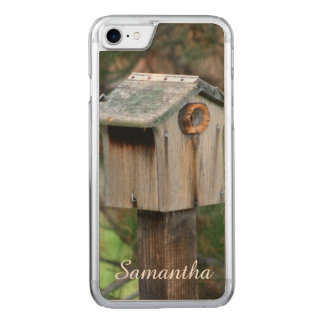 Iphone 7 rustic birdhouse phone case