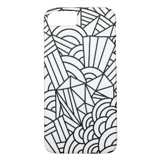 iPhone 7 Shapes and lines design iPhone 7 Case