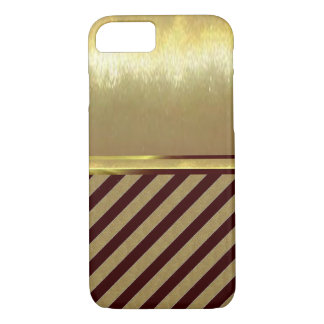 iPhone 7 Slim Shell Gold Design Case