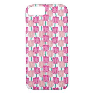 iPhone 7, Tulip Flower Pattern Case