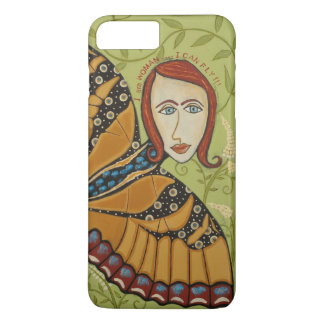 iPhone 8/7 - Barely There - I Am Woman/Butterfly iPhone 8 Plus/7 Plus Case