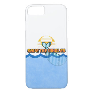 "iPhone 8/7, Barely There ""Save the Whales"" Case"