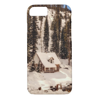 iPhone 8 Case - House in snow
