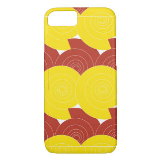 iPhone Abstract Letter S Ruby/Gold iPhone 8/7 Case