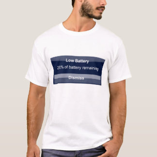 Iphone Battery Low T-Shirt
