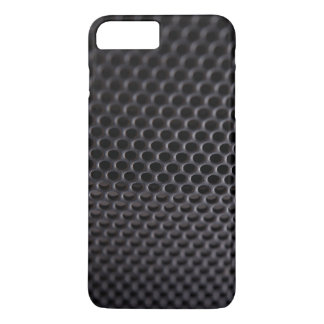 iPhone: Black Metal Speaker Grille Net iPhone 7 Plus Case