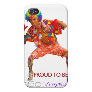 iPhone Case 360° Clown sean360x iPhone 4/4S Case