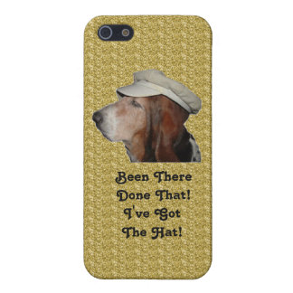 Iphone Case 4/4 Basset Hound Been There Done That iPhone 5 Cases