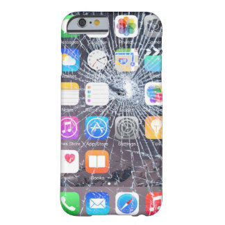 iphone case 6/6s cracked screen look