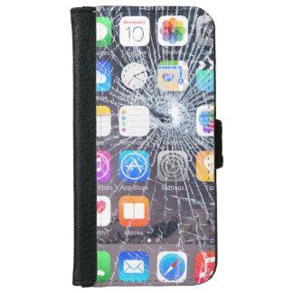 iphone case 6/6s cracked screen look
