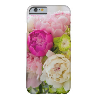 IPhone Case, 6/6s Flowers, Peonies, and Hydrangea Barely There iPhone 6 Case