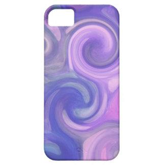 iphone case - abstract purple swirls