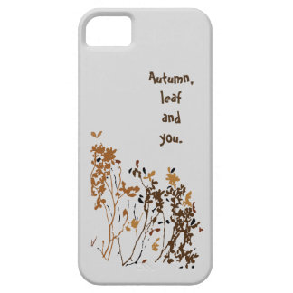 iPhone  case (Autumn,leaf and you) Barely There iPhone 5 Case