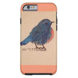 iPhone Case-Bluebird Tough iPhone 6 Case