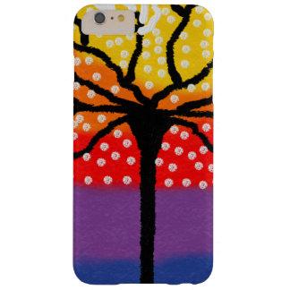 iphone case bright colourful tree design