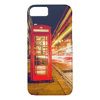 iPhone Case Cover Old Red British Phone Booth