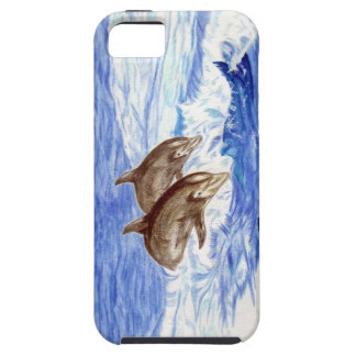 iPhone Case decorated with Dolphins