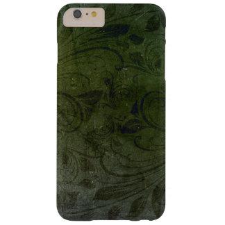 iPhone Case Deep Green Floral Twist