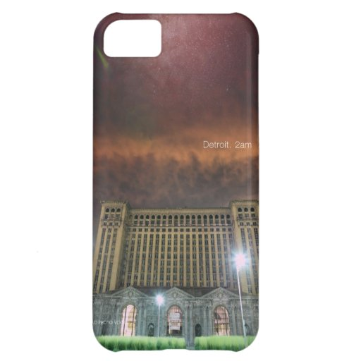 iPhone Case Detroit Train Station - KO Photo Vogue Cover For iPhone 5C