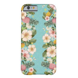 Iphone case flowers printed, vintage cute blue