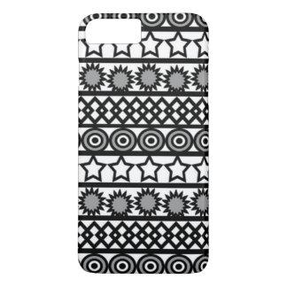 Iphone Case - Geometric Pattern In Black & White