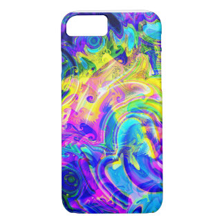 iPhone Case in a vivid vibrant colorful abstract