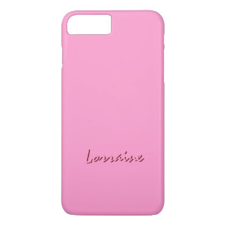 iPhone Case in Pink for Lorraine