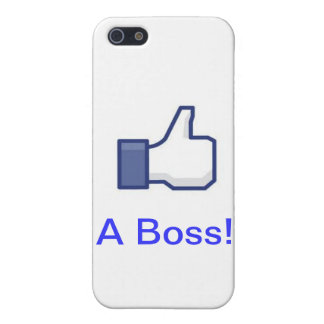Iphone Case: Like a Boss Cover For iPhone 5